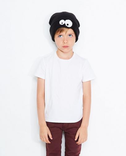 Schwarze Mütze Jungen 2-7